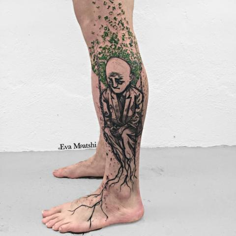 ink in skin